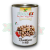 FOODEX BORLOTTI BEANS IN CHILLY SAUCE 400 GR 12/BAX