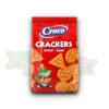 CROCO CRACKERS HAM 100 GR 12/BAX