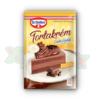 OETKER CAKE CREAM 145 GR CHOCOLATE 12/BOX